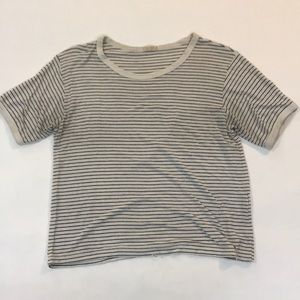 John Galt/ Brandy Melville striped shirt